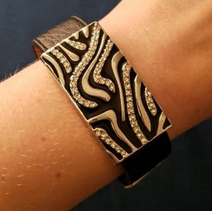 Lia Sophia leather bracelet